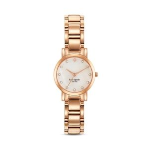 Kate spade small GOLD gramercy watch w/ crystals
